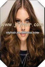 Alibaba china natural wave, middle parting, Peruvian virgin full lace wig