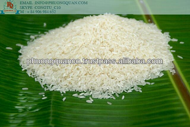 Vietnamese Long Grain White Rice 5% Broken