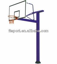 Square Tube Inground Basketball Pole