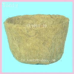 Flat Garden Coir Pot