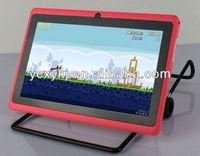 Allwinner A13 Processor RAM512 ROM 4gb Android 4.0 Mini Q88 Tablet