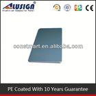 Cladding aluminum composite roof panels