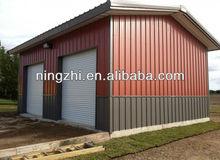 Two car garage/storage