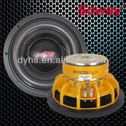 CT-1025OR 10 inch car subwoofer / Power speaker