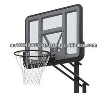 High Quality portable Basketball Stand with 48'' polycarbonate backboard ZY-021