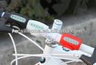 High intensity led turn signal mountain bike lights