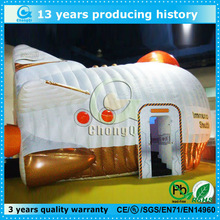 Factory customized animal shaped inflatable tent