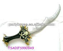 silver plastic katana sword wholesale