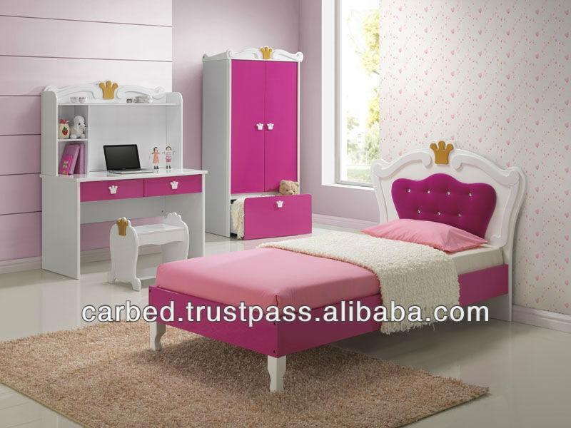 Smart Kids 2013 New Design:712 Litter Girl Crown Bedroom Furniture