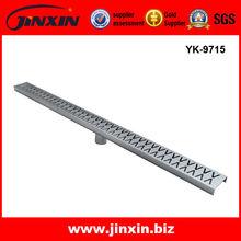 Linear Floor Drains Stainless Steel/bathroom sink drain parts/ Kitchen floor water drain