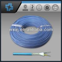 Light blue color pigment filled virgin PTFE TEFLON tube/tubing/pipe