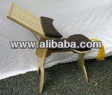 designed by Linnaeus wooden computer desk