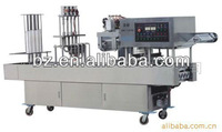 shanghai factory price automatic plastic cup yogurt filling and sealing machine