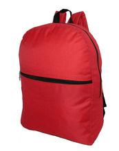 """17"""" polyester backpack book bag school bag for promotion"""