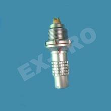 Lemo alternative1K 5pin watertight IP68 connector for harsh environment