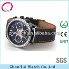 New design six hands two buttons automatic men watches