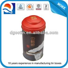 china supplier empty metal tea can , aluminum tea can