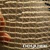 Extruded plastic windbreaker shade net