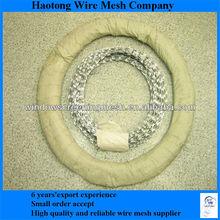 iso9001 galvanized and pvc razor barbed wire aps