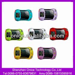 Wholesaling Cheap Sport Car Celular Phone Dual sim cards F8 with FM radio MP3 MP4 Camera from China