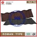 Tipo romano |aluminum de zinc de techo de acero tile|stone recubierto de metal del techo