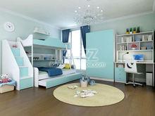 modern design bright color kid home bedroom set