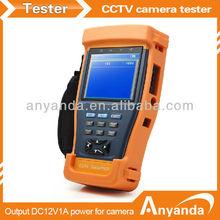 3.5'' portable CCTV tester DC12V output power stest-893