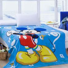 children cartoon fleece blanket cartoon design printed coral fleece blanket