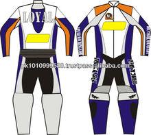 Leather Motorbike Suit - Racing Wear - Motorcycle Clothing