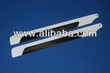 High quality 325mm Carbon Fiber Main Blades,customize logo, used for Align T-rex 450 V2/Se helicopter