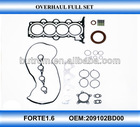 Cylinder head top engine repair kit for KIA FORTE1.6 G4FC engine