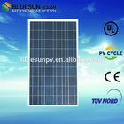 25 years warrantly best price power 100w solar panel