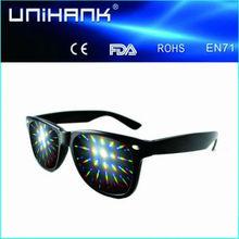 3d firework glasses for fireworks show, concert,party manufaturer