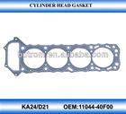 Cylinder head gasket for pick-up D21 ka24 OEM.11044-40F00