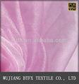 100% de poliéster de organza bordada tela pongis en uso de china para la cortina y la falda