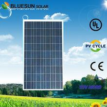 TUV UL ISO CE Certificate Bluesun 12V solar panel 100 watt