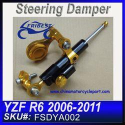 For YAMAHA R6 06-11 with bracket Steering Damper Stabilizer with Bracket FSDYA002