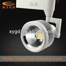 light for clothing shop 30W COB led tracklight three-phase plugs