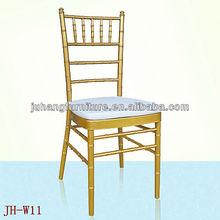 Durable Hotel Chiavari Chair With Cushions