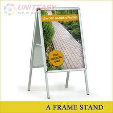 outdoor aluminium banner frame display