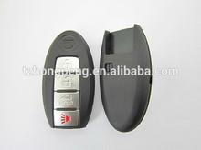 Substituição 4 botão de pânico inteligente tampa da chave do carro para shell chave Nissan direto da fábrica