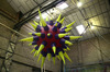 New brand Club decoration inflatable star with led light