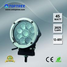 45w Combo Beam Led Work Light Offroad Cree Bulb Ring Light
