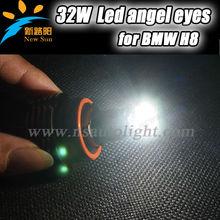 High Power H8 32W LED Angel Eyes Marker C REE CHIP for BMW Standlichtringe 32 Watt