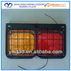 Truck head/rear/tail lamp with iron net