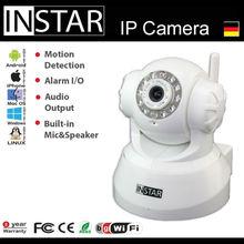 INSTAR IN-3010 Wireless Pan Tilt IP Camera Night Vision Surveillance Camera