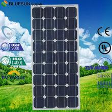 Bluesun high efficiency solar power panel 12V 100w monocrystalline