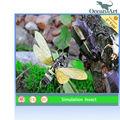 Oa-si0033 realista simulación modelo de insectos