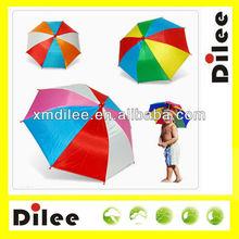 hot sale world cup football fan hat small head umbrella