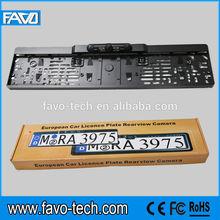 Night Vision EU Auto Plate Frame Rearview Camera with CMOS Sensor